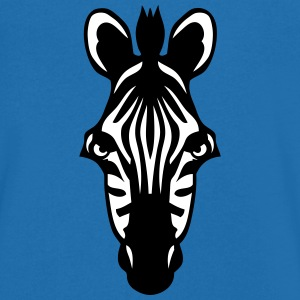 zebre animal sauvage animaux 1102 Tee shirts - T-shirt Homme col V