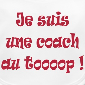 Je suis une coach au top ! Accessories - Baby Organic Bib