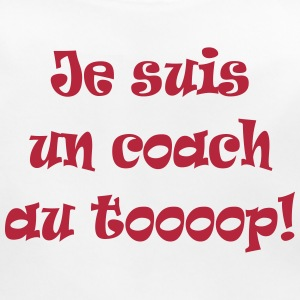 Je suis un coach au top ! Accessories - Baby Organic Bib