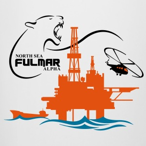 Fulmar Oil Rig Platform North Sea Aberdeen - Beer Mug