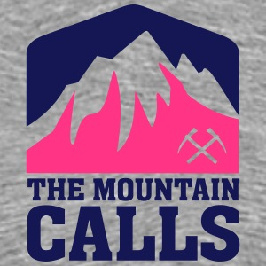 THE MOUNTAIN CALLS T-Shirts - Männer Premium T-Shirt
