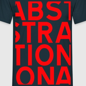 ABSTRACT ROUGE Tee shirts - T-shirt Homme