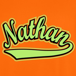 Nathan - T-shirt personalised with your name T-Shirts - Men's Football Jersey