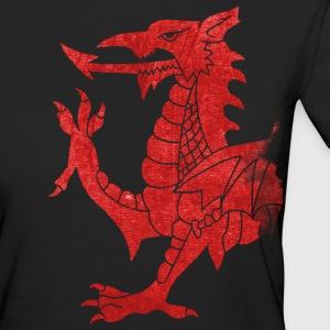 Welsh Dragon Rampant T-Shirts - Women's Organic T-shirt
