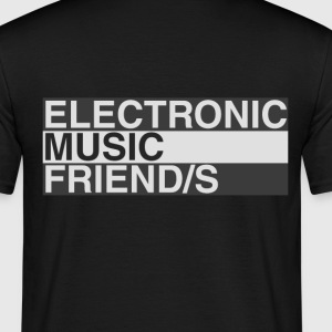 Music Friend männl. - Männer T-Shirt