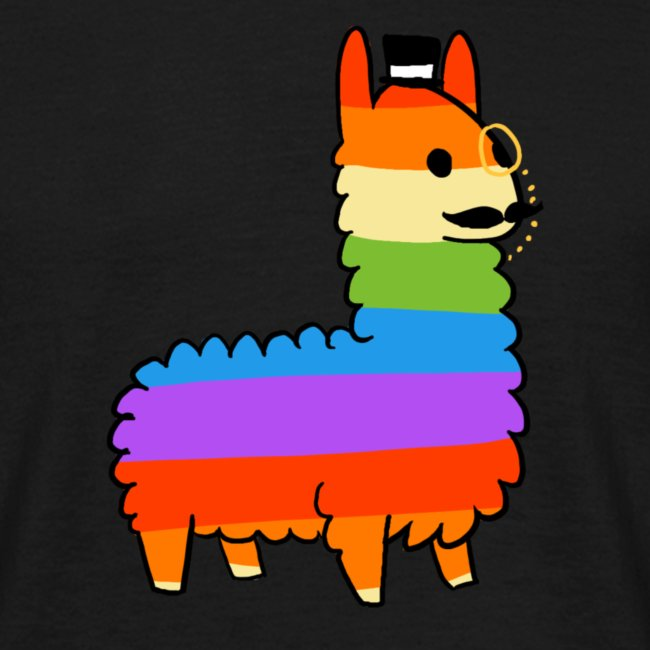 Rainbow Sheep Like a Sir