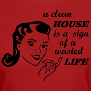 retro housewife joke T-Shirts - Women's Organic T-shirt