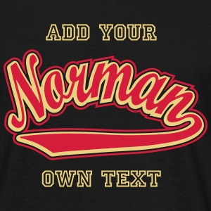 Norman - T-shirt personalised with your name T-Shirts - Men's T-Shirt