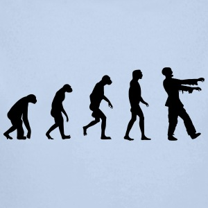 Evolution of Zombies  Sweats - Body bébé bio manches longues
