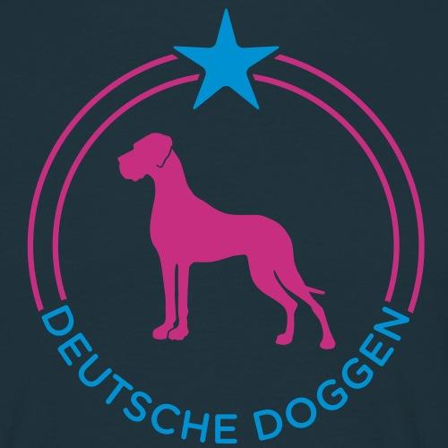 Deutsche Doggen Stern Kreis