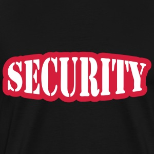 Security T-shirts - Herre premium T-shirt
