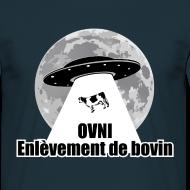 Motif ~ Tee shirt Homme enlèvement de bovin