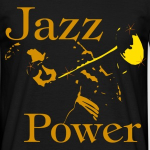 jazz power 06 Tee shirts - T-shirt Homme