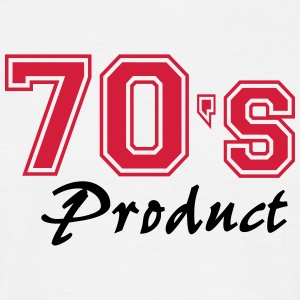 70's product T-shirts - Mannen T-shirt