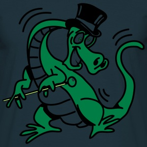 Dragon dancer entertainer cool comic T-Shirts - Men's T-Shirt