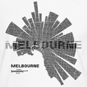 Melbourne Tee shirts - T-shirt contraste Homme