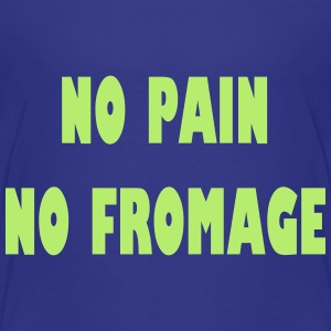 No pain no fromage Shirts - Kinderen Premium T-shirt