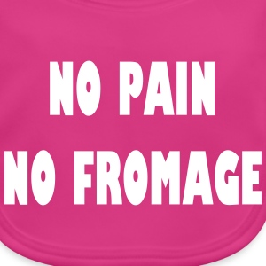 No pain no fromage Accessories - Baby økologisk hagesmæk