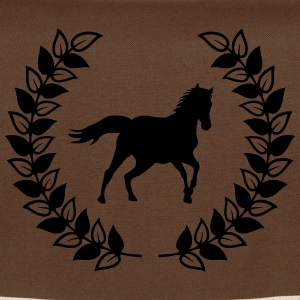 wreath horse Bags & Backpacks - Shoulder Bag