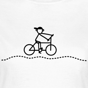 Cyclists - Bicycle T-Shirts - Women's T-Shirt