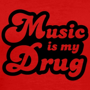 Music is my Drug Koszulki - Koszulka męska Premium