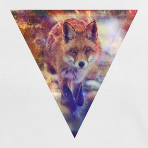 Fox Triangle T-Shirts - Frauen Kontrast-T-Shirt