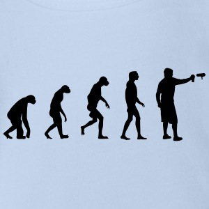 Evolution of Graffiti/ Streetart / Bombing Shirts - Organic Short-sleeved Baby Bodysuit