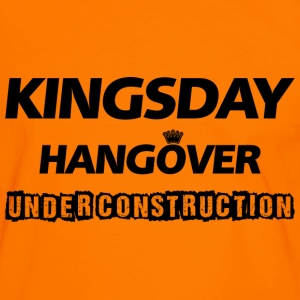 Kingsday Hangover (under construction) T-shirts - Mannen contrastshirt