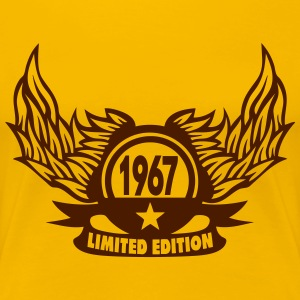 1967 annee limited edition logo annivers Tee shirts - T-shirt Premium Femme