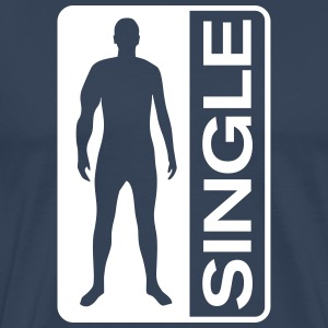 Single Man T-shirts - Premium-T-shirt herr