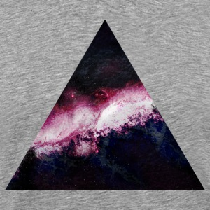 triangle galaxy triangle galaxy T-shirts - Premium-T-shirt herr