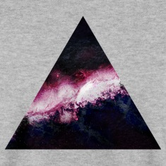 triangle galaxy Hoodies & Sweatshirts