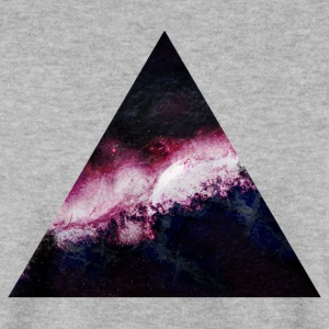 triangle galaxy driehoek galaxy Sweaters - Mannen sweater
