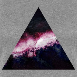 triangle galaxy triangle galaxy T-shirts - Premium-T-shirt dam