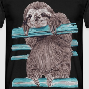 hey mr sloth T-Shirts - Men's T-Shirt