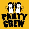 Drunk drinking party crew team 2 penguins T-Shirts - Women's Premium T-Shirt