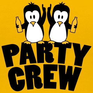 Betrunken Saufen Party Crew Team 2 Pinguine T-Shirts - Frauen Premium T-Shirt