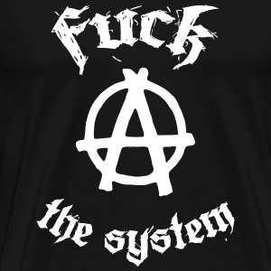 Fuck the System T-shirts - Premium-T-shirt herr