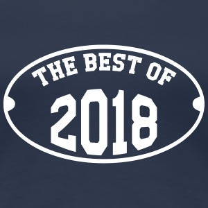 The Best of 2018 T-shirts - Dame premium T-shirt