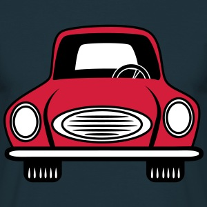Auto grill auto voertuig T-shirts - Mannen T-shirt