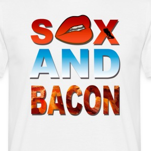 sex and bacon T-Shirts - Men's T-Shirt