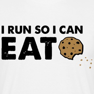 Eat Cookies T-Shirts - Männer T-Shirt