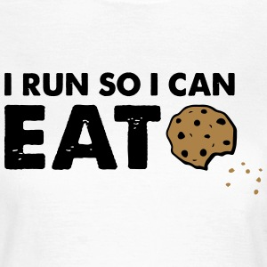 Eat Cookies T-shirts - Dame-T-shirt