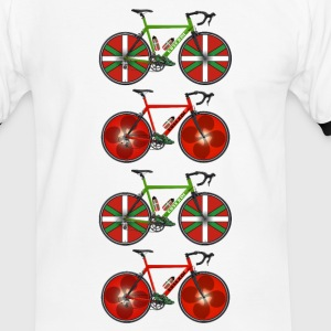 cyclisme basque Tee shirts - T-shirt contraste Homme
