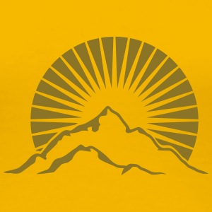Beautiful mountains Alpine Sun T-Shirts - Women's Premium T-Shirt