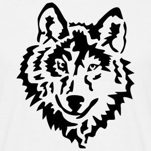 wolf Tee shirts - T-shirt Homme
