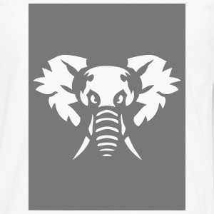 elephant animal sauvage 28013 Tee shirts manches longues - T-shirt manches longues Premium Homme
