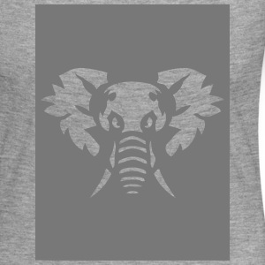 elephant animal sauvage 28013 Tee shirts manches longues - T-shirt manches longues Premium Femme
