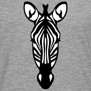zebre animal sauvage 28012 Tee shirts manches longues - T-shirt manches longues Premium Homme