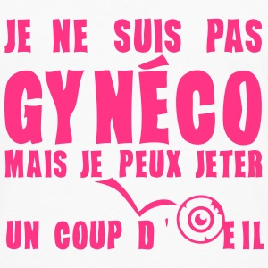suis pas gyneco jeter coup oeil expressi Tee shirts manches longues - T-shirt manches longues Premium Homme